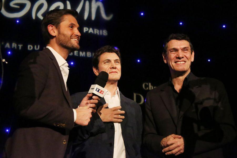 Christophe Beaugrand et Marc Lavoine à Paris le 1er février 2016