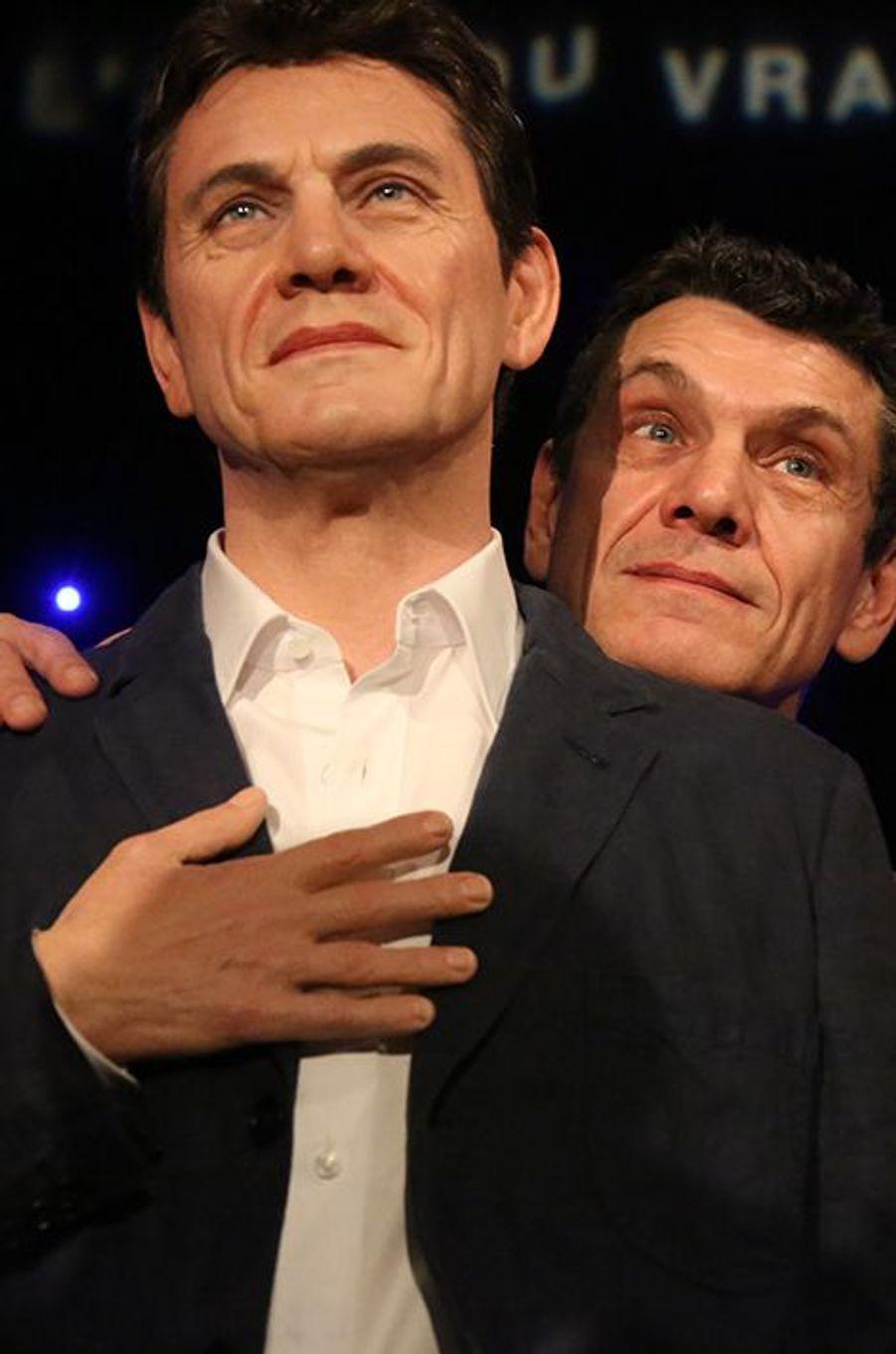 Marc Lavoine à Paris le 1er février 2016