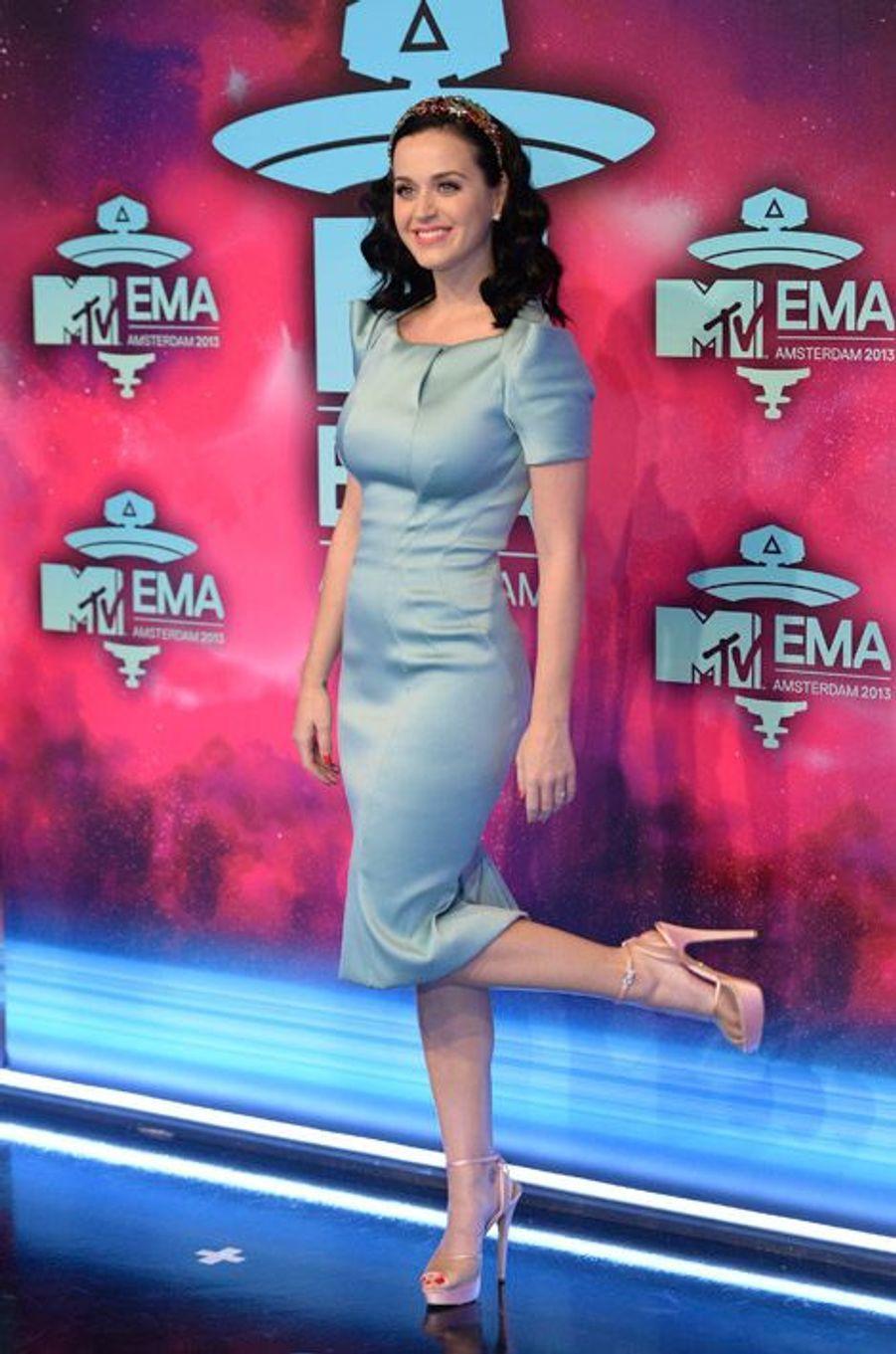 Katy Perry en coulisse