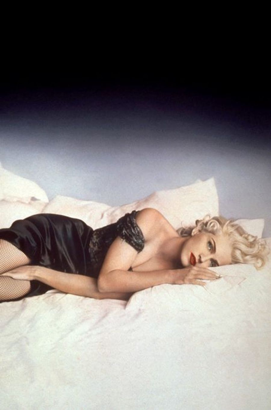 "Madonna dans son film ""In bed with Madonna"", le 1er mai 1991"