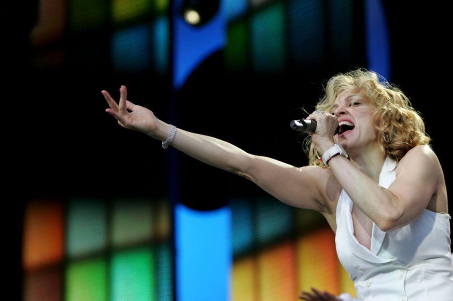 Madonna, le 2 juillet 2005