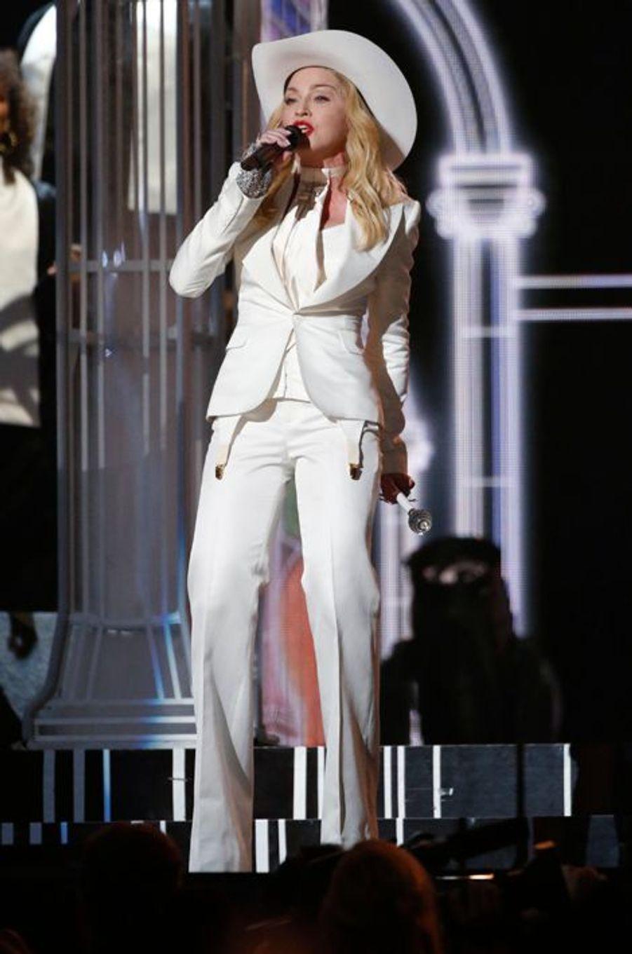 Madonna, le 27 janvier 2014