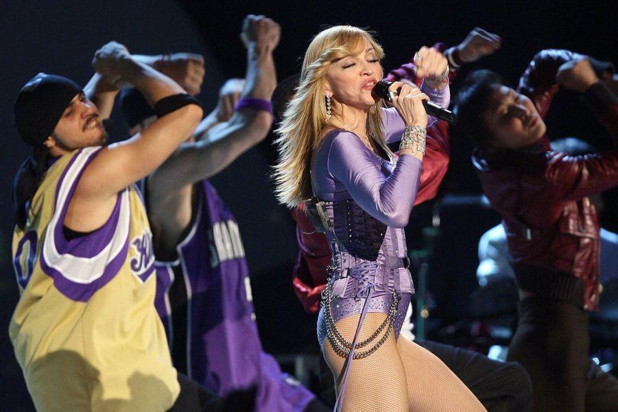 Madonna, le 8 février 2006