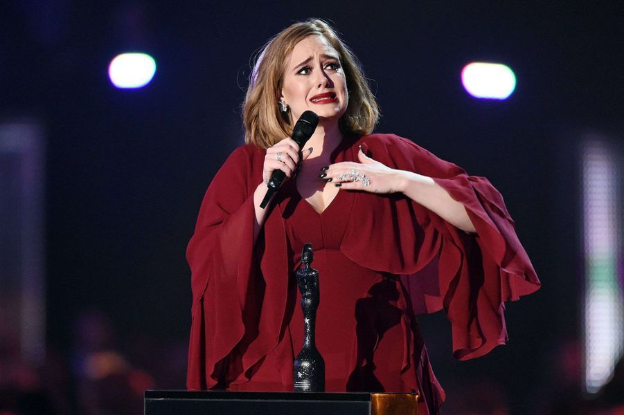 Les larmes d'Adele