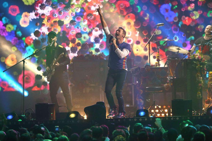 Pour la 4e fois, Coldplay remporte le prix du Groupe de l'année