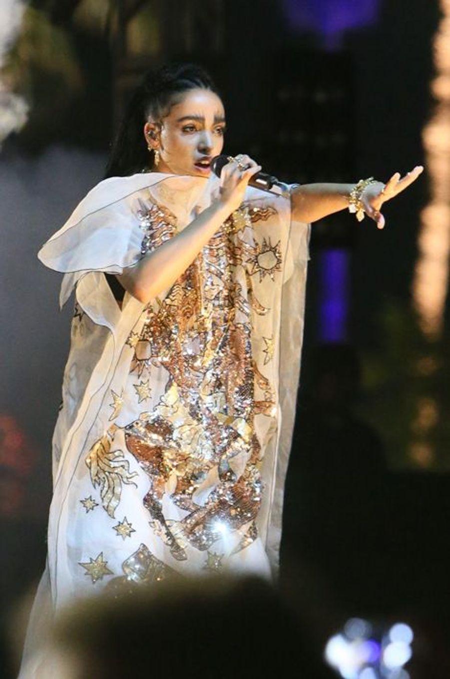 La chanteuse FKA Twigs