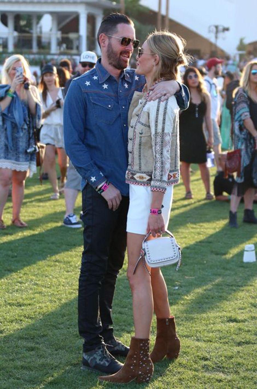 Le réalisateur Michael Polish et son épouse, l'actrice Kate Bosworth