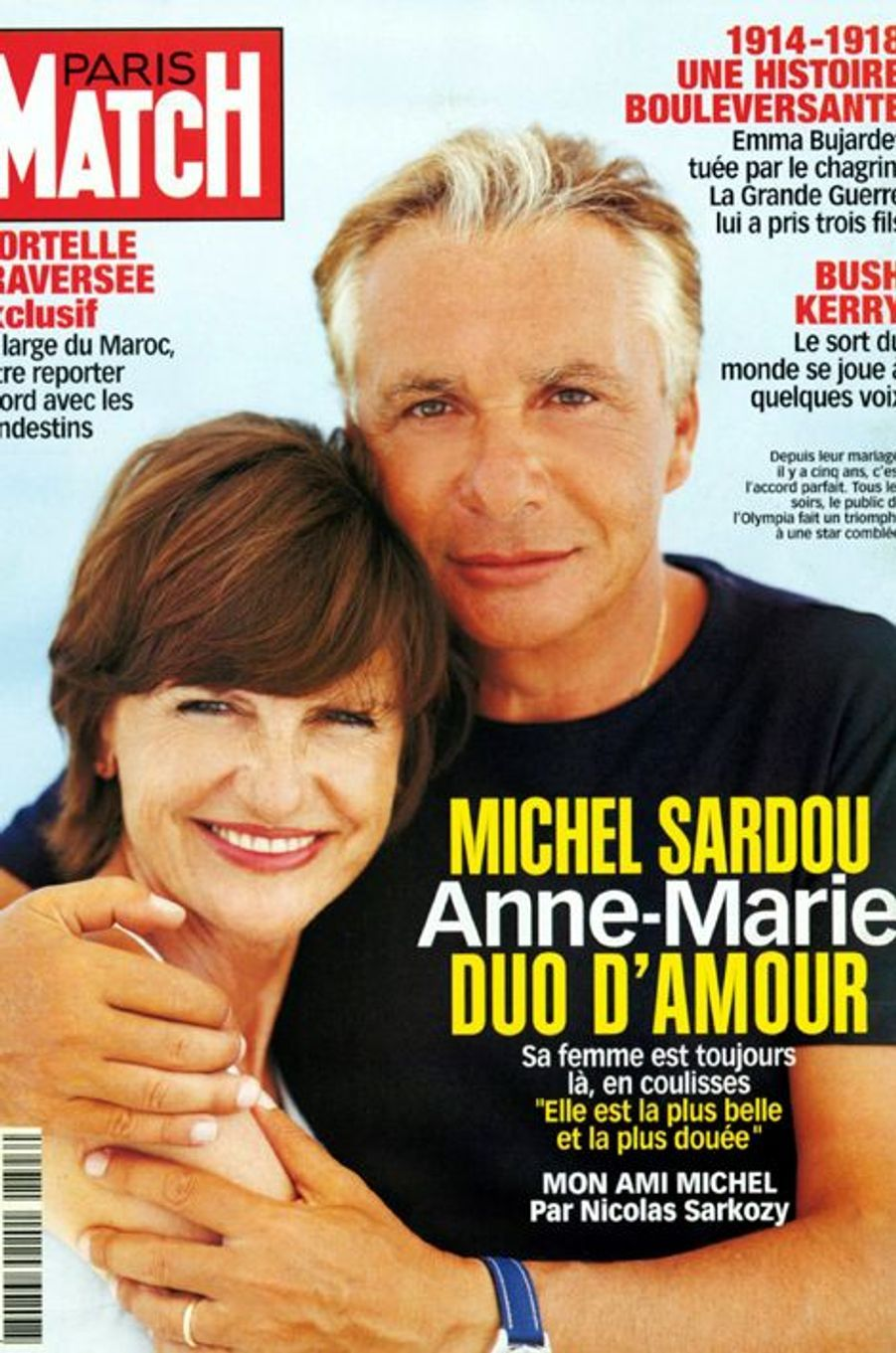 Couverture de Paris Match du 28 octobre 2004