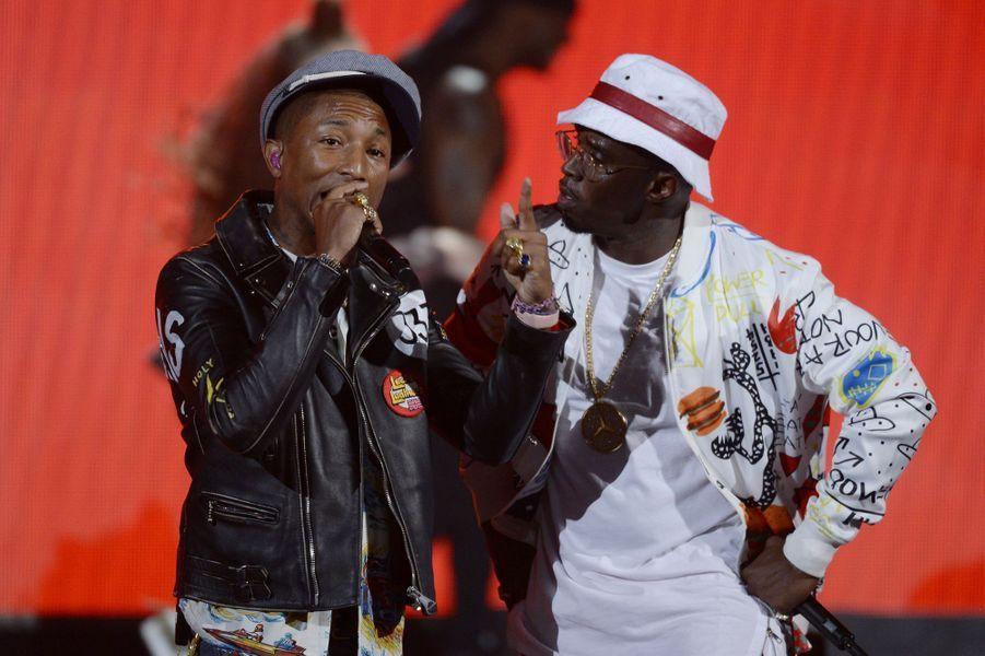 Pharrell et P. Diddy