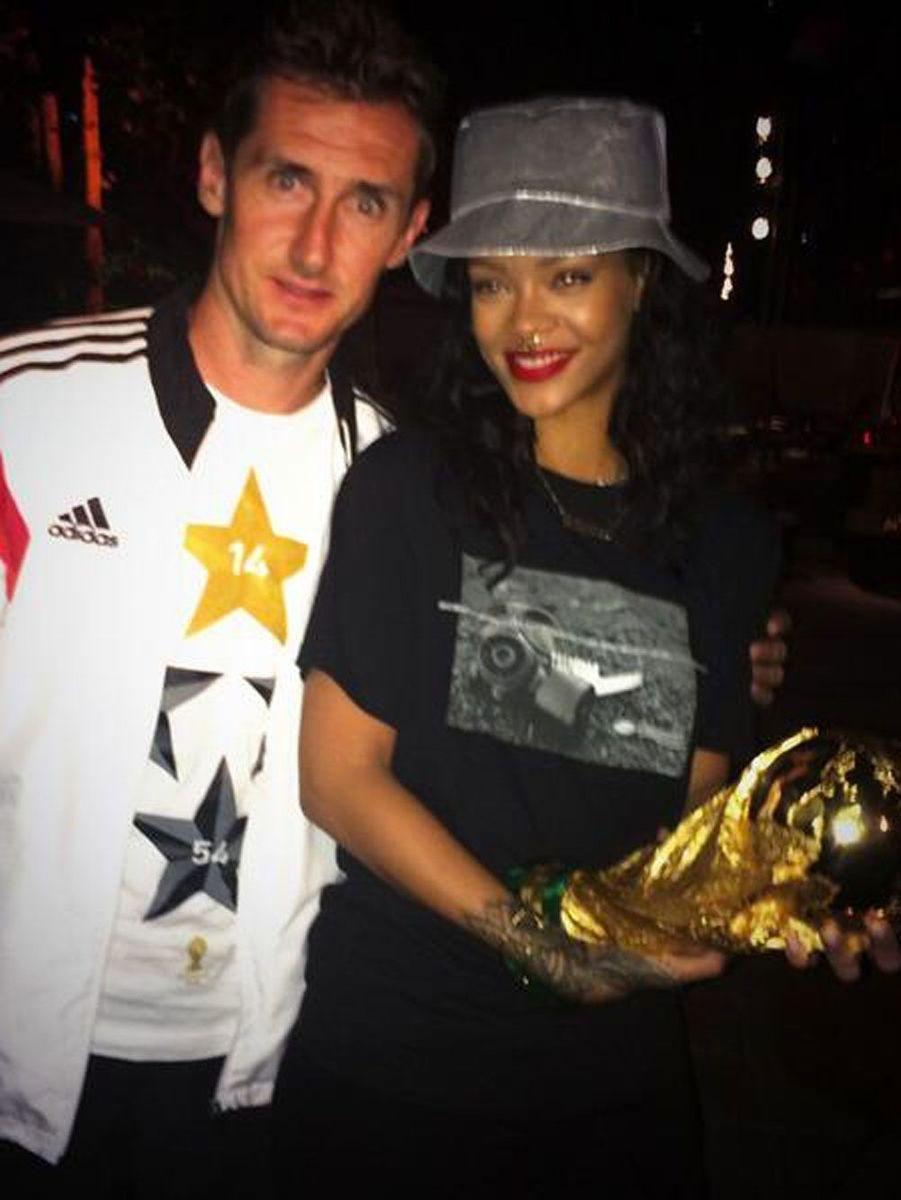 Avec Miroslav Klose