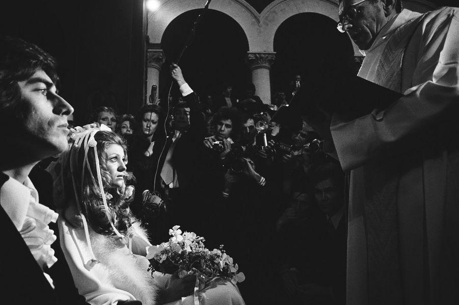 Le mariage de Sheila et Ringo, le 13 février 1973 à Paris