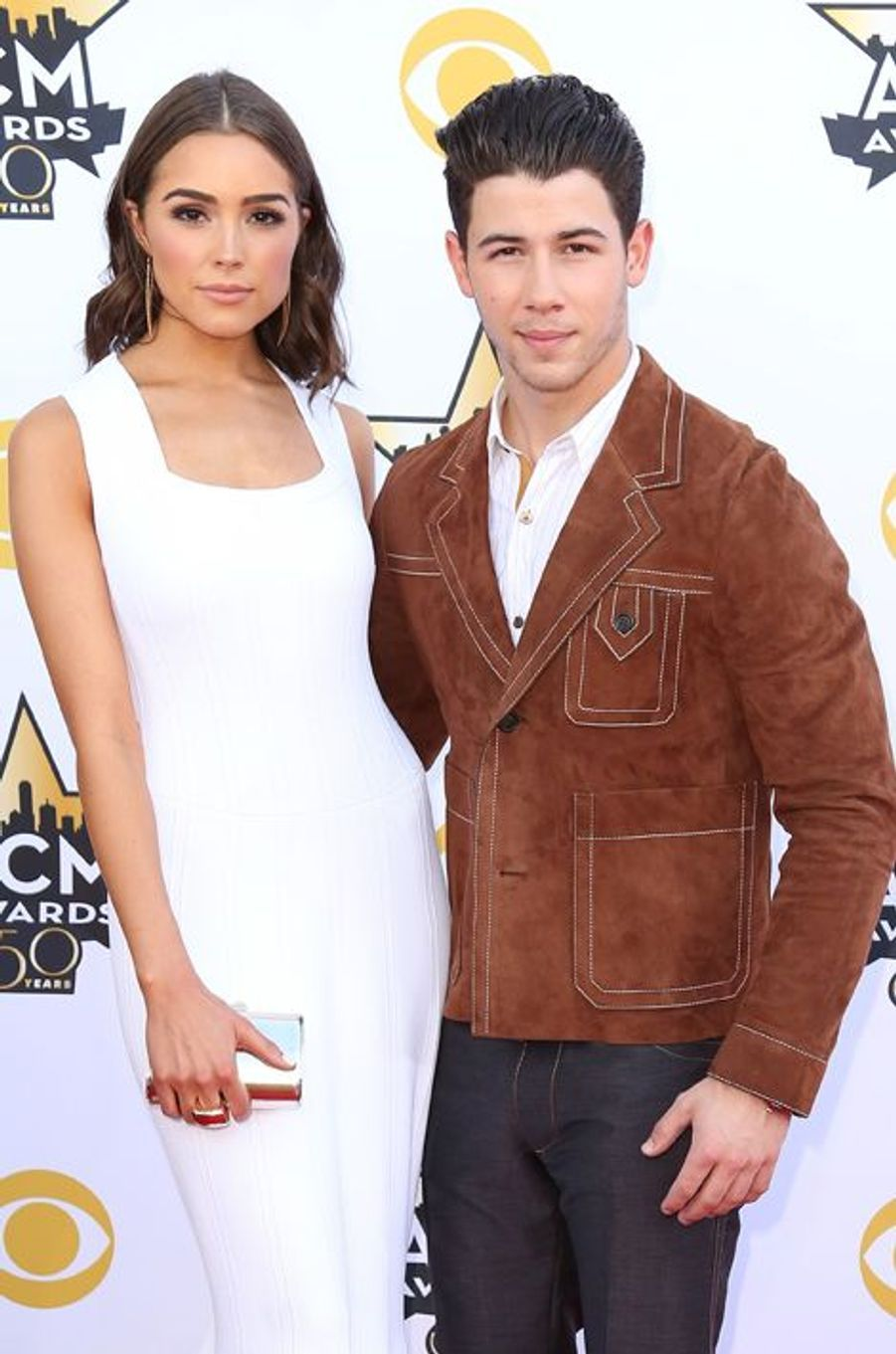 Nick Jonas et sa petite amie Olivia Culpo