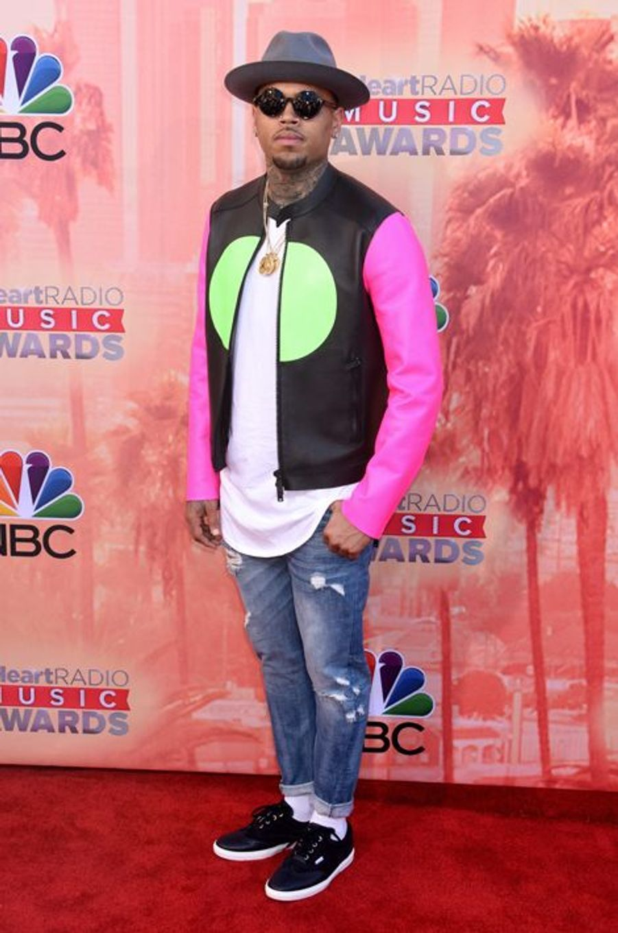 Chris Brown à Los Angeles le 29 mars 2015