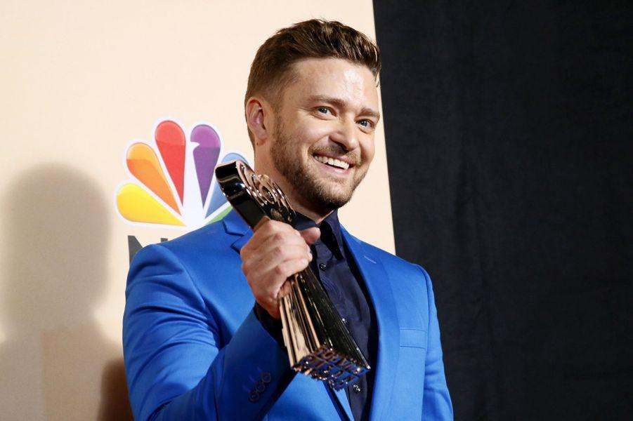 Justin Timberlake à Los Angeles le 29 mars 2015