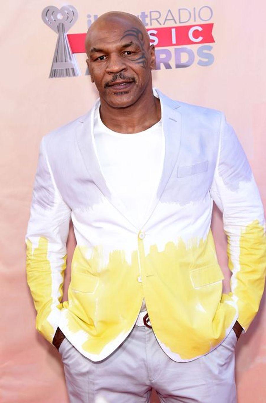 Mike Tyson à Los Angeles le 29 mars 2015