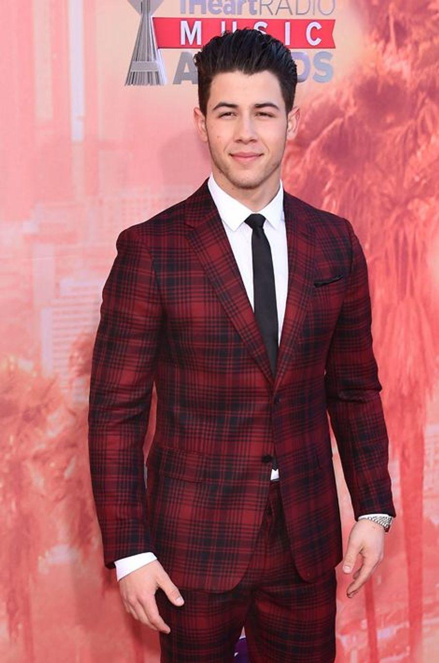 Nick Jonas à Los Angeles le 29 mars 2015