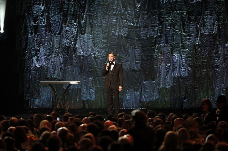 L'animateur de la soirée, Jimmy Kimmel