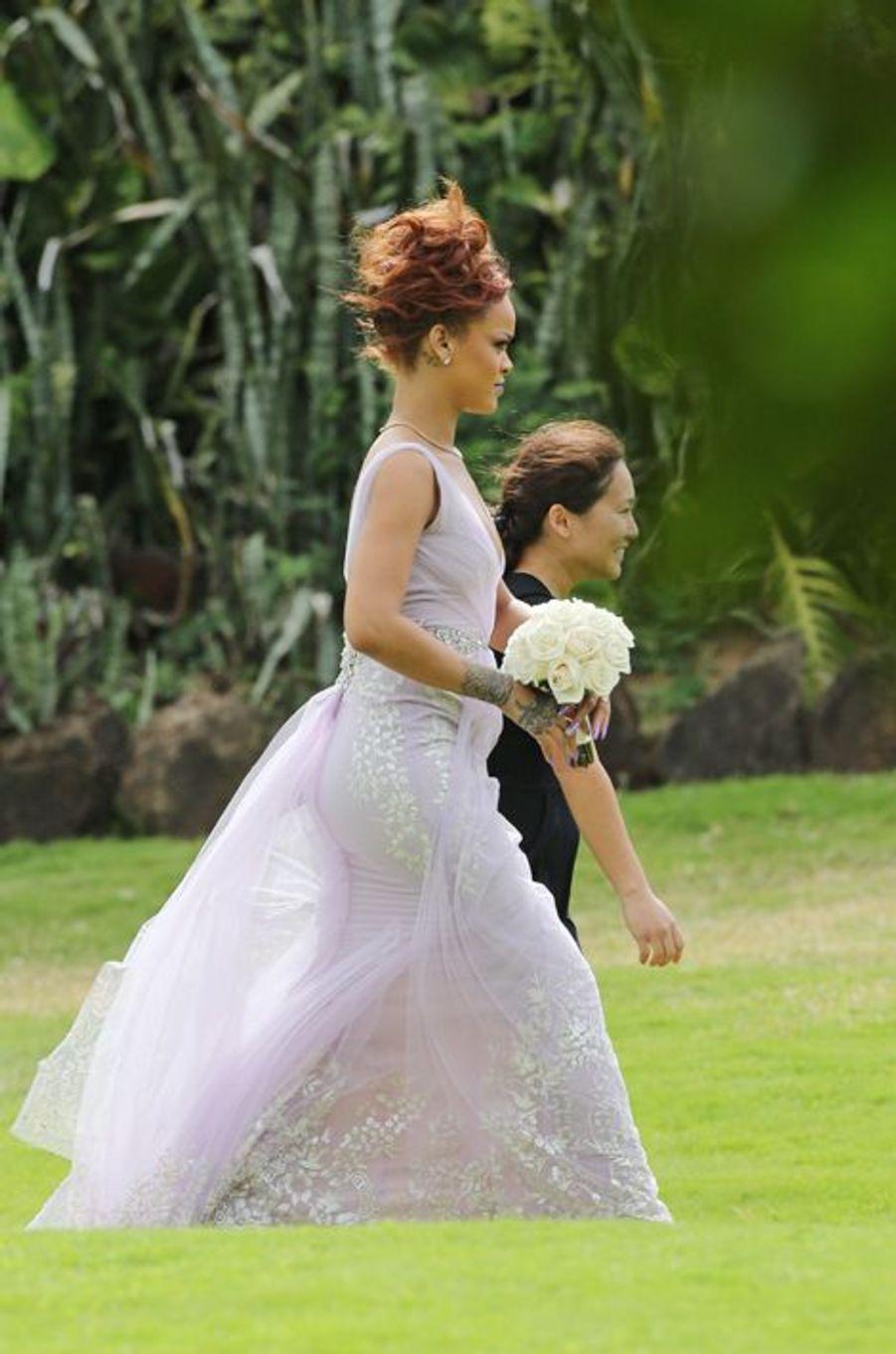 Rihanna joue les demoiselles d'honneur