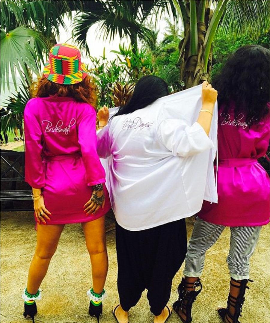 Rihanna, témoin star de son assistante