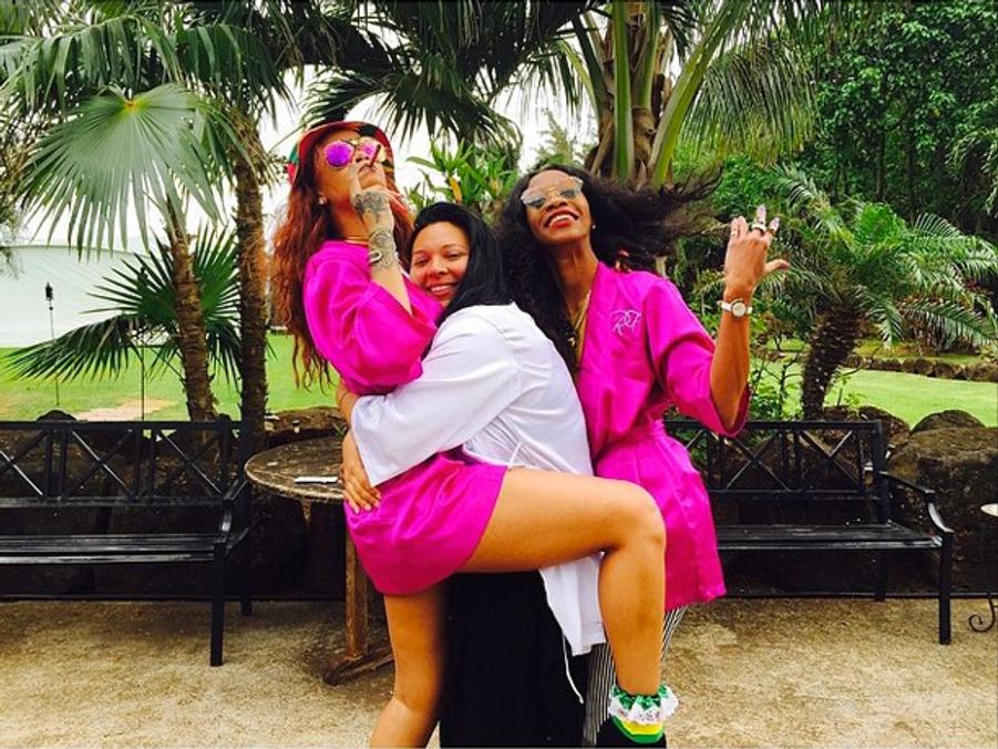 Rihanna, témoin star débridé