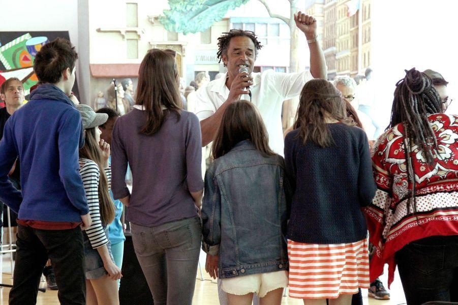 Yannick Noah à Paris le 24 juin 2015