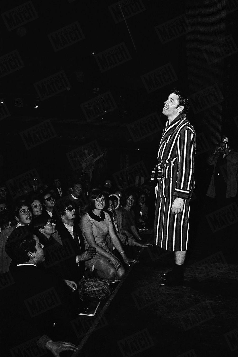 Jacques Brel, dernier rappel, dernier récital à l'Olympia, novembre 1966
