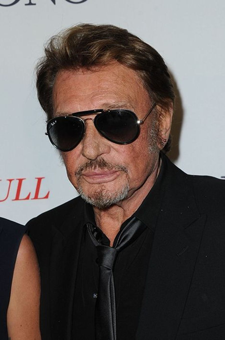 Johnny Hallyday à Paris le 23 octobre 2014