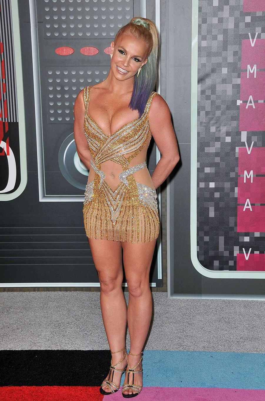 Britney Spears aux MTV VMA 2015