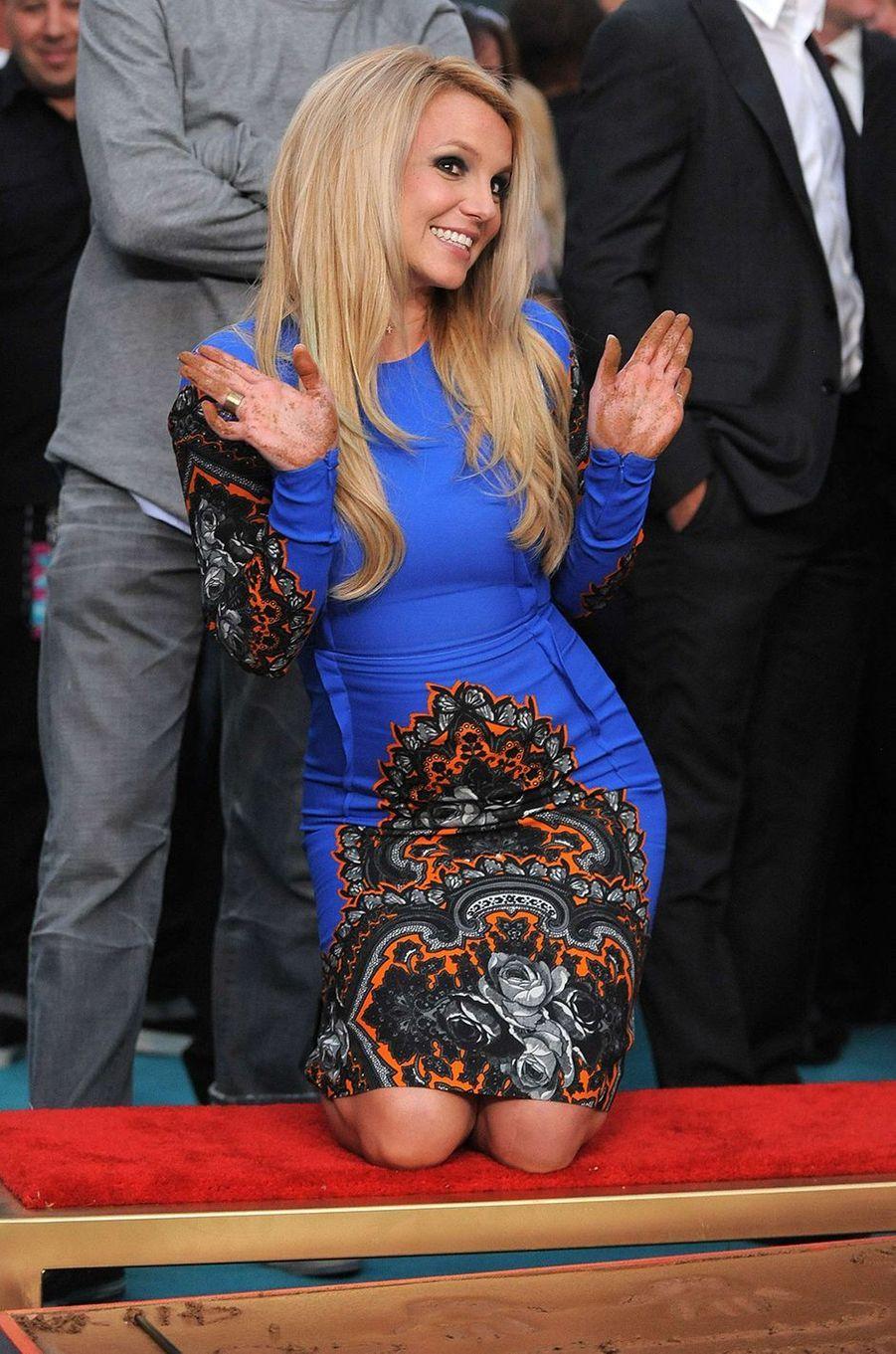 Britney Spears en 2012