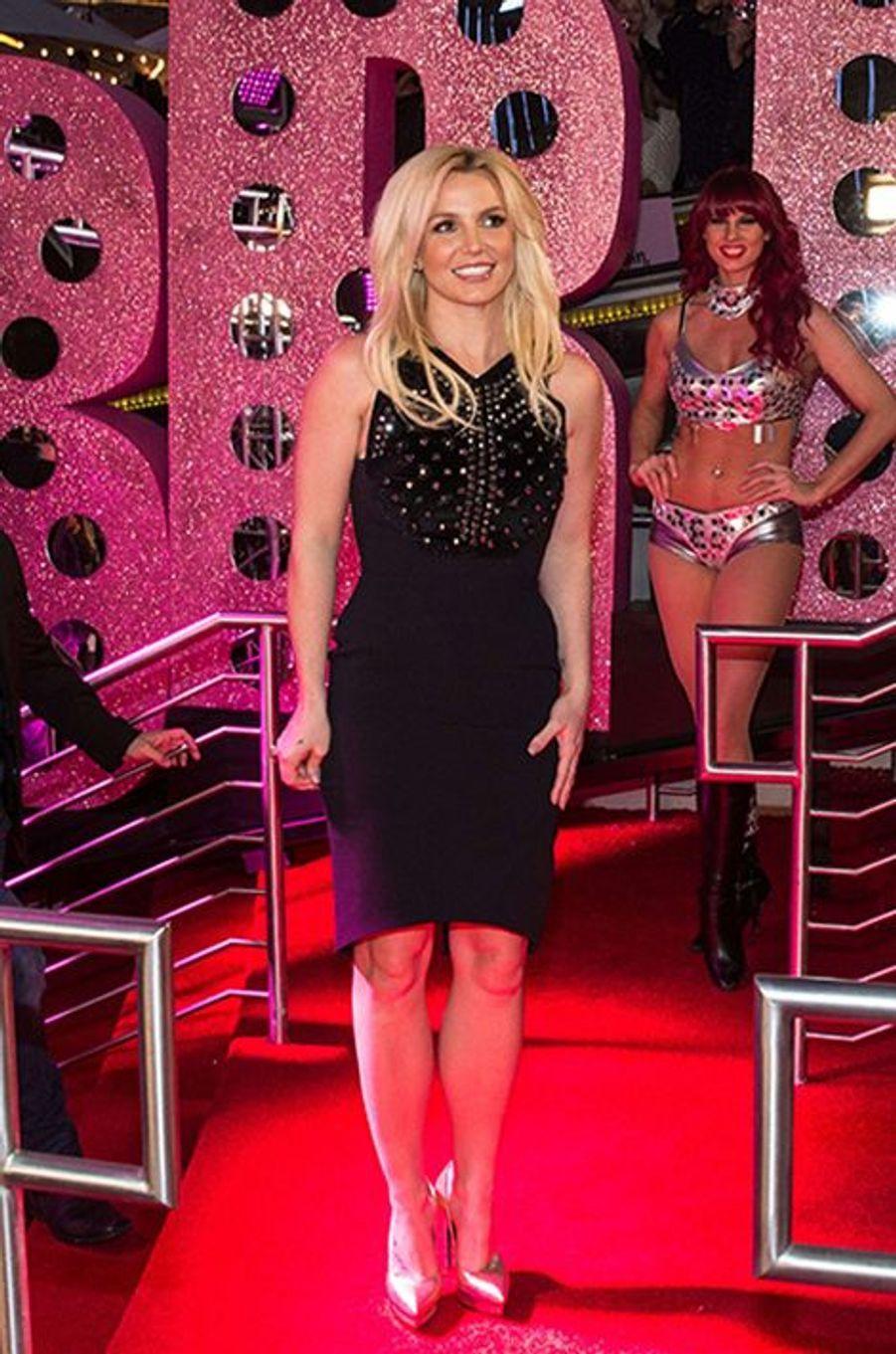 Britney Spears présente son show à Las Vegas, 2013