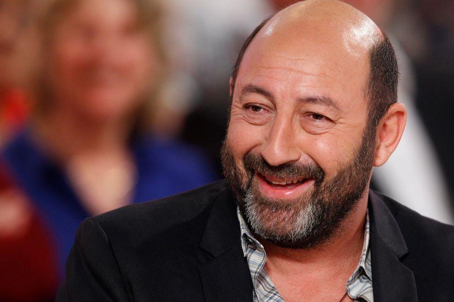 Kad Merad pendant l'enregistrement de «Vivement Dimanche» Roberto Alagna à Paris, le 15 octobre 2014