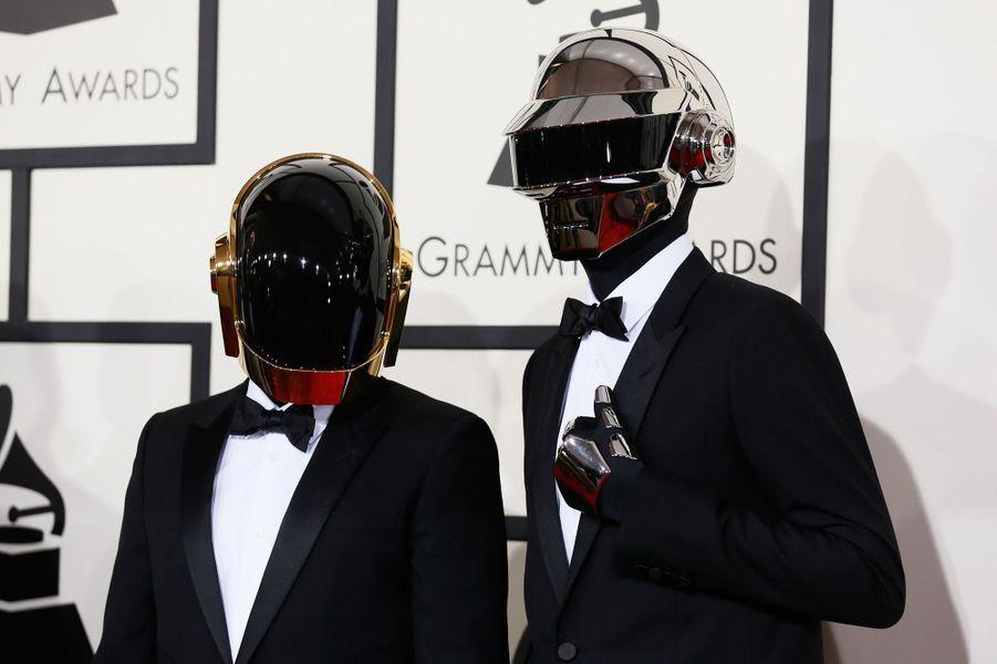 Le duo franco-français de Daft Punk occupe la cinquième place du classement. Guy-Manuel de Homem-Christo et Thomas Bangalter ont gagné 2,4 millions d'euros chacun.