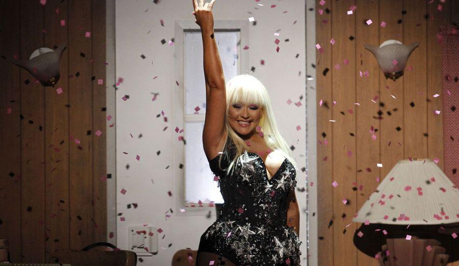 Christina Aguilera, show girl