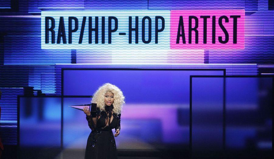 Nicki Minaj, artiste hip hop de l'année