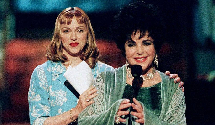 1997, avec Elizabeth Taylor