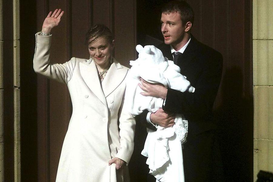 Baptême de Rocco, décembre 2000