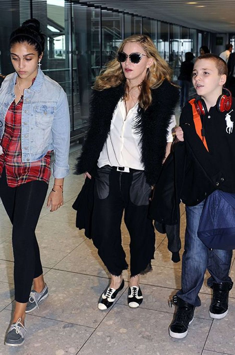 Madonna et Rocco à Londres, 2011