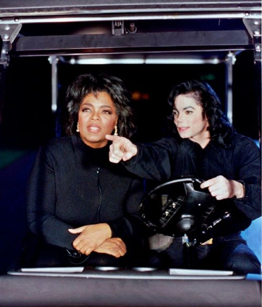 En février 1993, invité du talk show d'Oprah Winfrey.