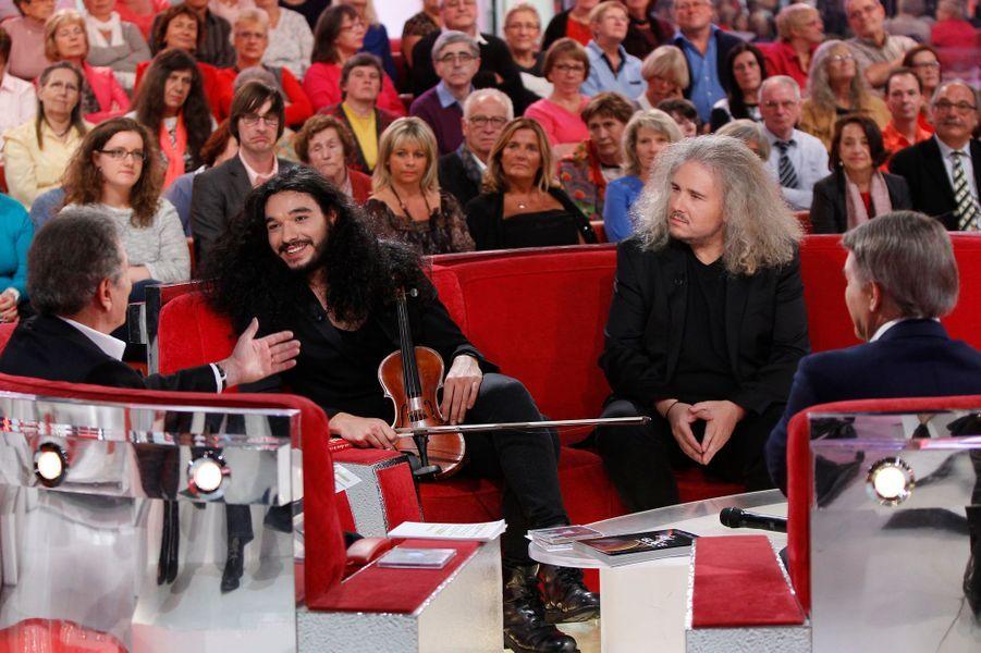 """Enregistrement de """"Vivement Dimanche"""" Salvatore Adamo, le 5 novembre 2014"""