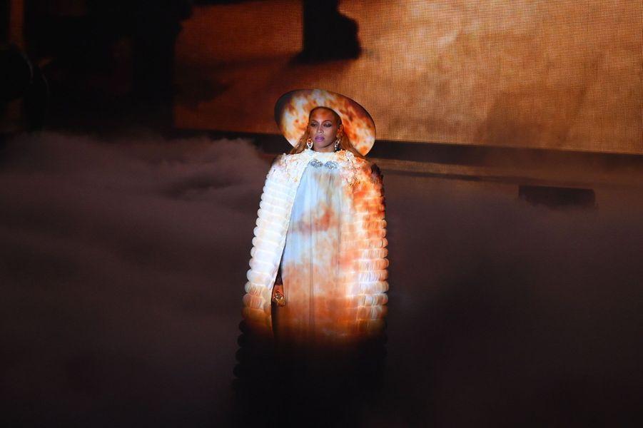 Beyoncé lors de la cérémonie des MTV VMA Awards dimanche