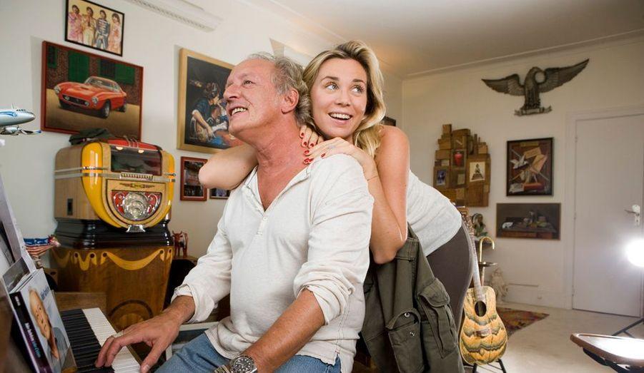 « Monsieur Tubes » adore les chansons tristes. Mais, depuis cinq ans, il vit chaque jour la mélodie du bonheur