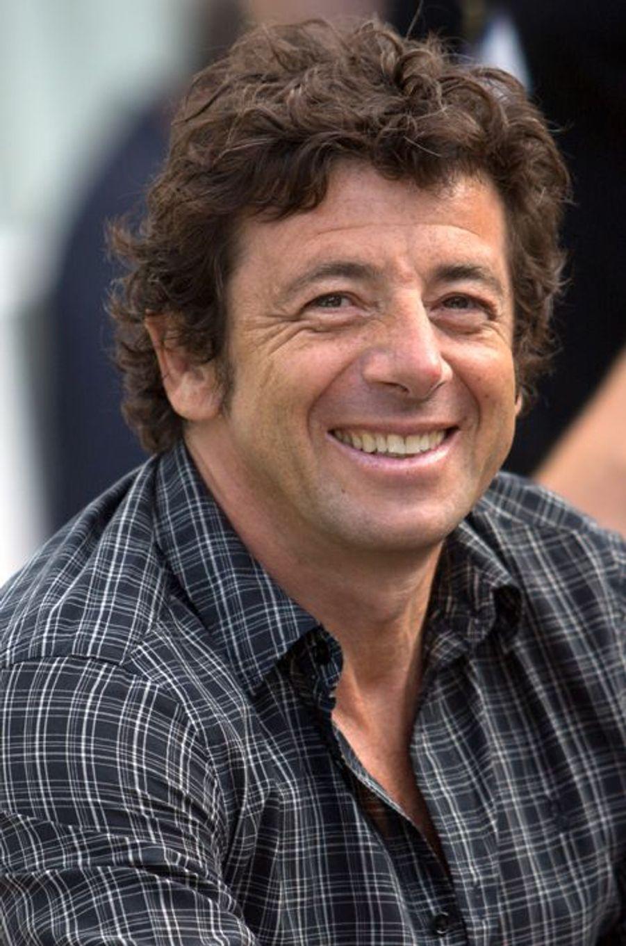 Patrick Bruel à Angoulême le 22 août 2014.