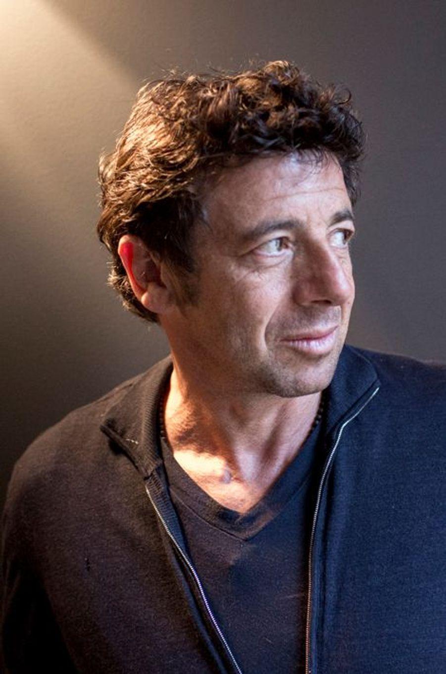 Patrick Bruel à Avignon le 19 mars 2014.