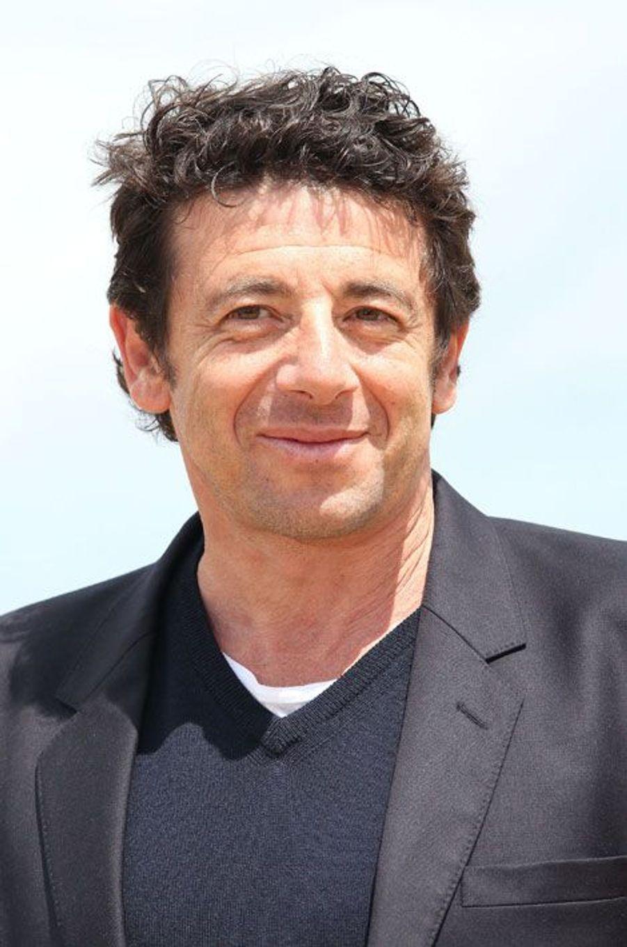Patrick Bruel à Cabourg le 16 juin 2012.
