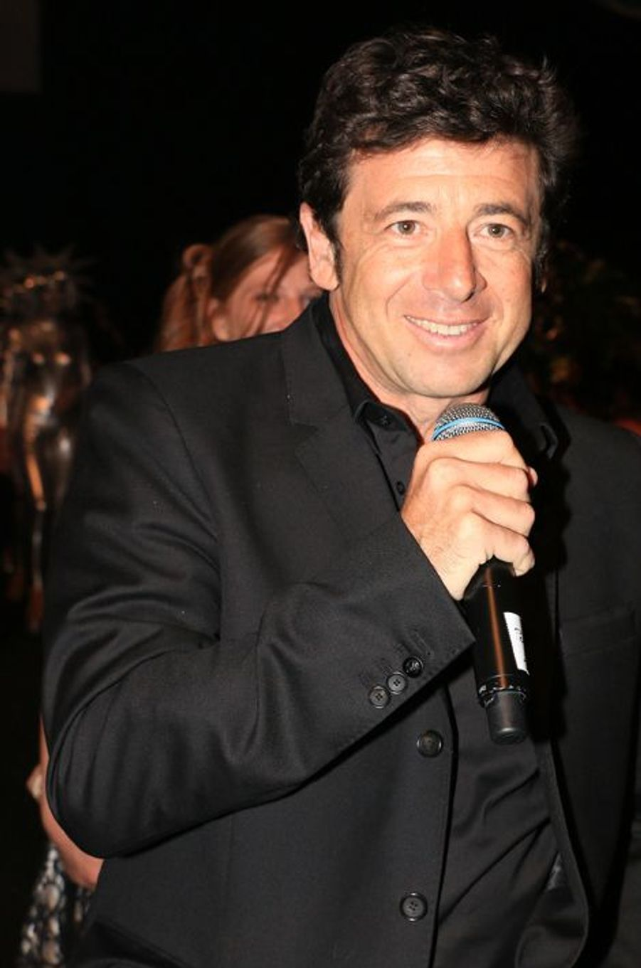 Patrick Bruel à Genève le 21 mars 2014.