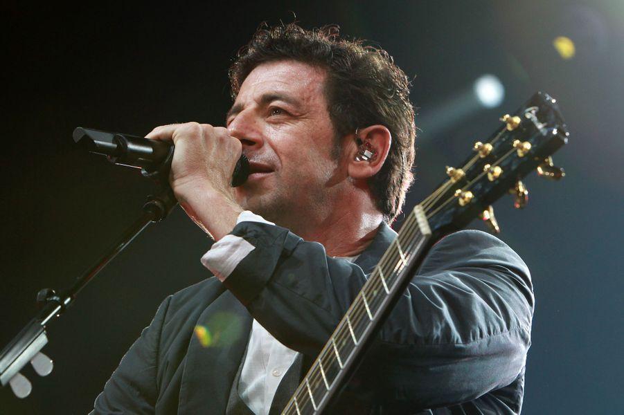 Patrick Bruel à Paris Bercy le 22 juin 2013.