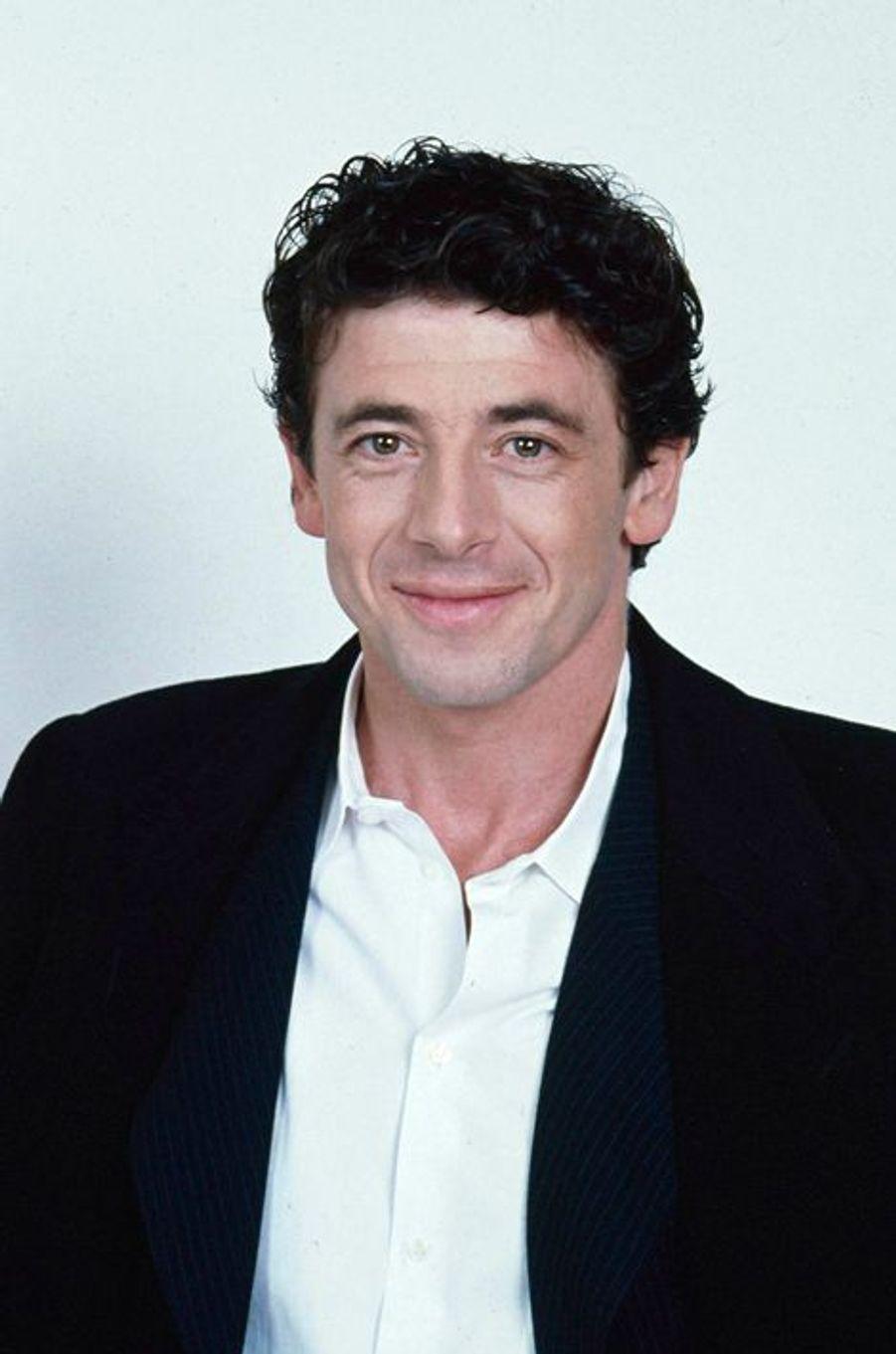 Patrick Bruel à Paris en janvier 1999.