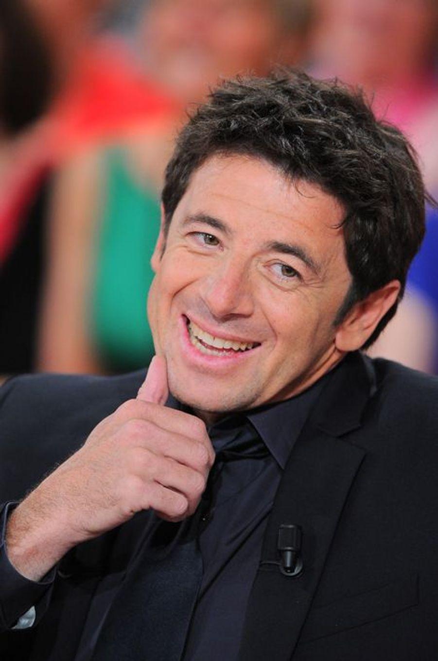 Patrick Bruel à Paris le 12 avril 2012.