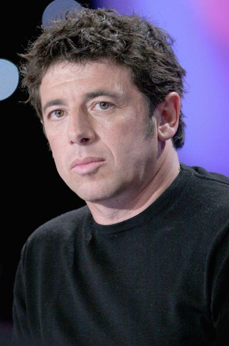 Patrick Bruel à Paris le 16 janvier 2005.
