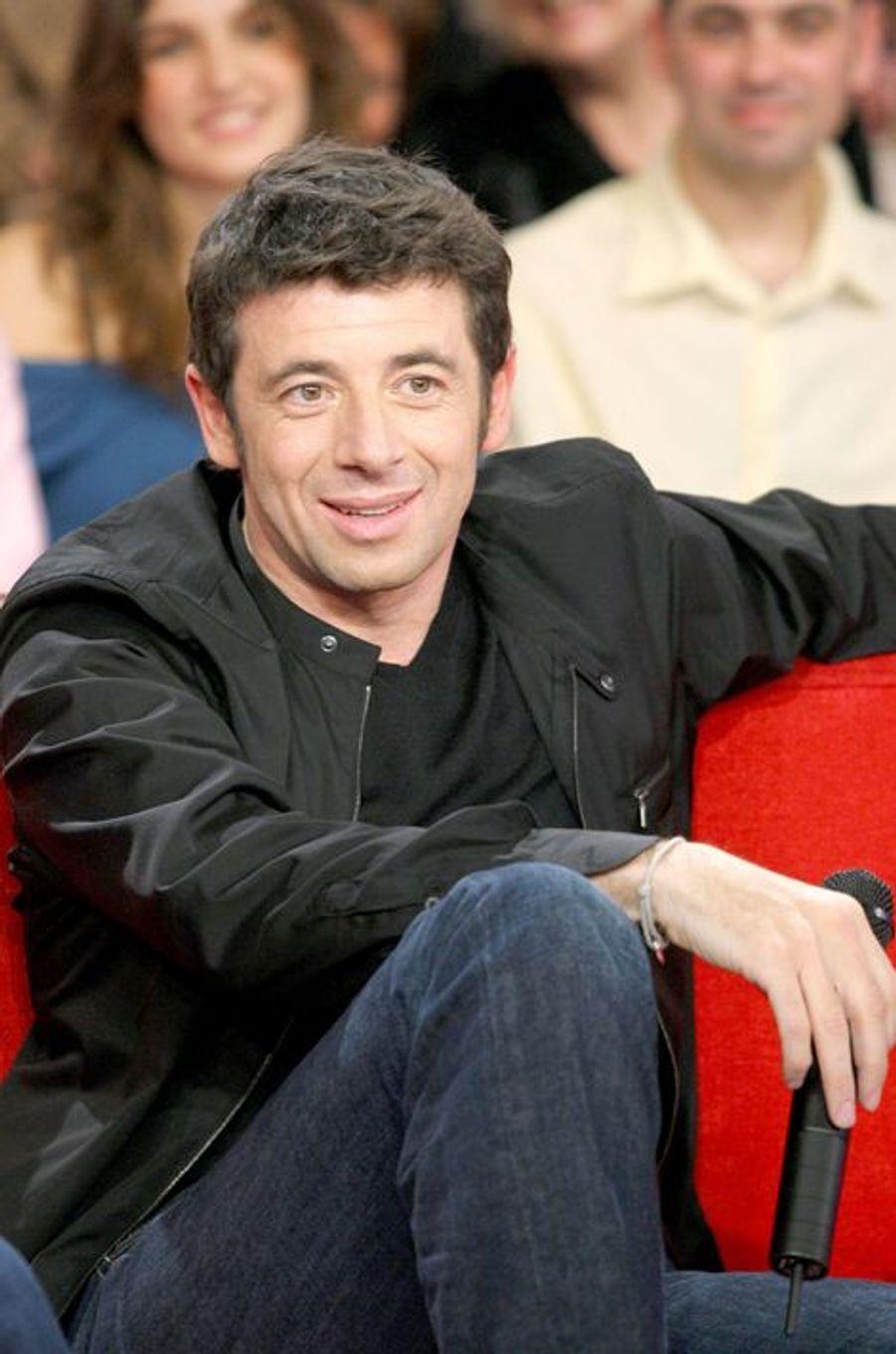 Patrick Bruel à Paris le 22 mars 2006.